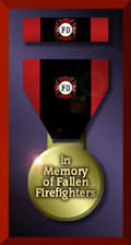 FALLEN FIREFIGHTERS MEDAL